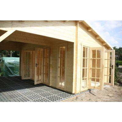 Bild 18 von Azalp Blockhaus Ben 650x650 cm, 45 mm