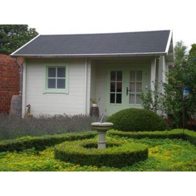 Bild 34 von Azalp Blockhaus Kinross 450x400 cm, 45 mm