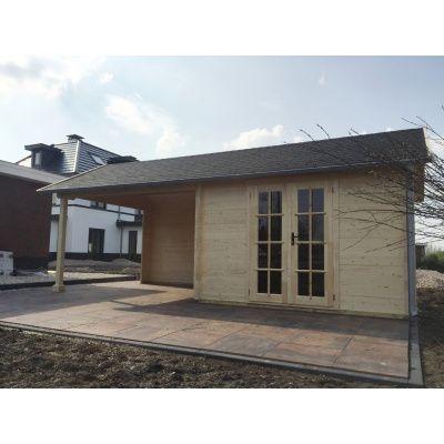 Bild 17 von Azalp Blockhaus Marnix 500x250 cm, 30 mm
