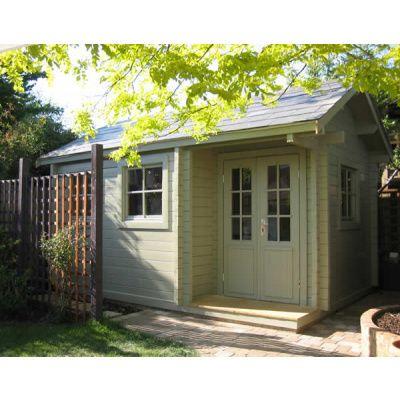 Bild 7 von Azalp Blockhaus Cottage Style Cumberland 520x430 cm, 45 mm