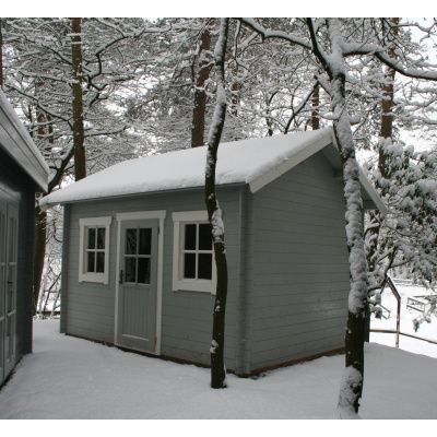 Bild 14 von Azalp Blockhaus Lis 400x400 cm, 30 mm