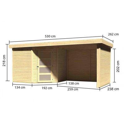Afbeelding 3 van Woodfeeling Schwandorf 5 met veranda (77752)