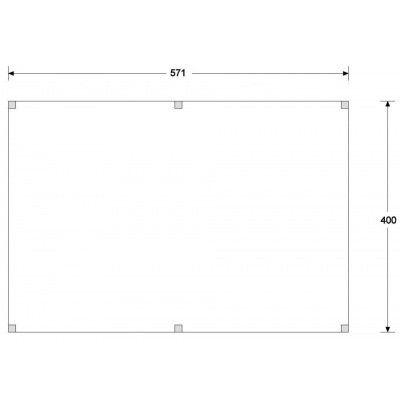 Afbeelding 2 van CarpGarant Overkapping Douglas 400x600 cm (GC135157)