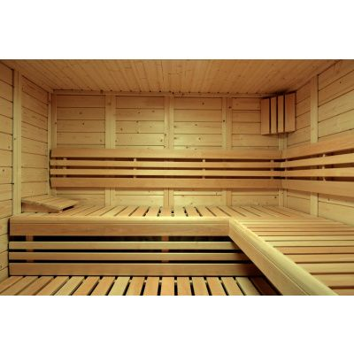 Afbeelding 13 van Azalp Sauna Luja 240x240 cm, 45 mm