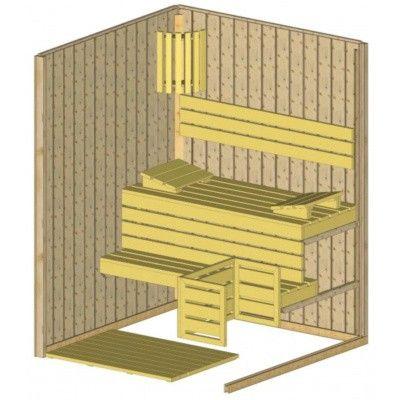 Afbeelding 5 van Azalp massieve sauna Rio Glass 151x151 cm, 39 mm