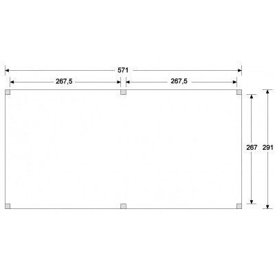 Afbeelding 6 van CarpGarant Overkapping Douglas Excellent 600x300 cm (CG137237)