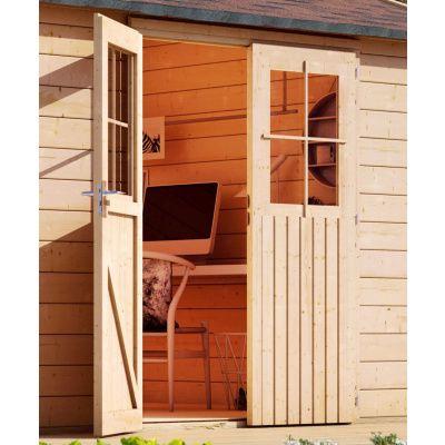 Afbeelding 3 van Woodfeeling Meulebeke 1 met veranda 300 cm