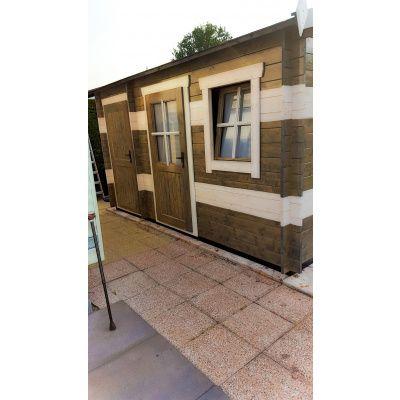 Bild 15 von Azalp Blockhaus Mona 550x550 cm, 45 mm