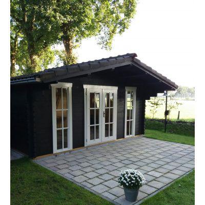 Hauptbild von Azalp Blockhäuser Stefan 596x450 cm, 45 mm
