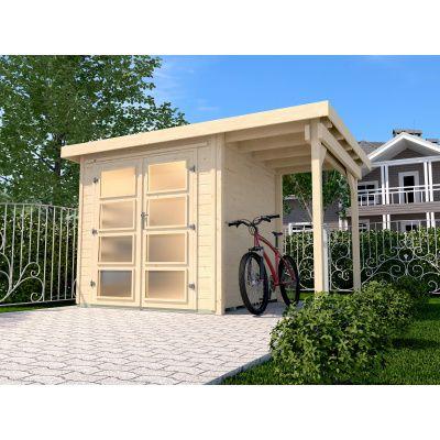 Hauptbild von Weka Gartenhaus 321A Gr. 3 Aanbouw 115cm
