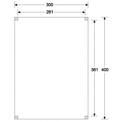 Afbeelding 6 van WoodAcademy Graniet excellent Douglas blokhut 300x400 cm