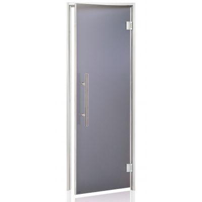 Hoofdafbeelding van Hot Orange Stoombad deur Au Lux 80x210 cm, mat grijs