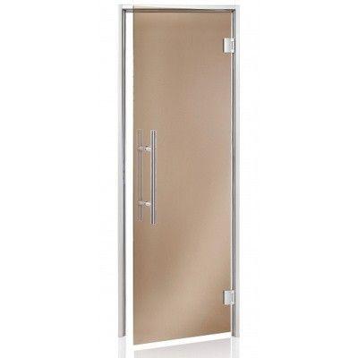 Hoofdafbeelding van Hot Orange Stoombad deur Au Premium 80x200 cm, brons