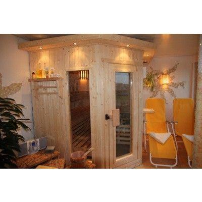 Afbeelding 3 van Azalp Dakrand voor sauna Classic elzen/espen*