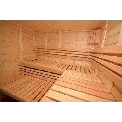 Afbeelding 30 van Azalp Sauna Luja 240x210 cm, 45 mm