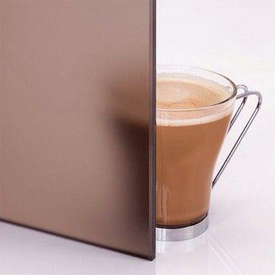 Afbeelding 3 van Hot Orange Saunadeur Premium 90x200 cm, mat brons 8 mm elzen