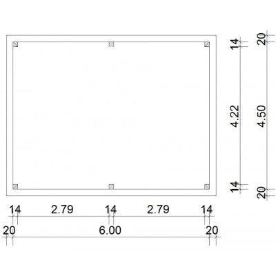 Afbeelding 18 van Azalp Prieel Keira 640x490 cm
