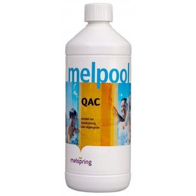 Hoofdafbeelding van Melpool QAC algenbestrijding 1 liter (anti alg)
