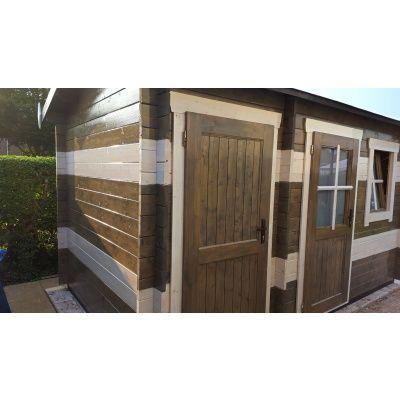 Bild 16 von Azalp Blockhaus Mona 450x400 cm, 45 mm