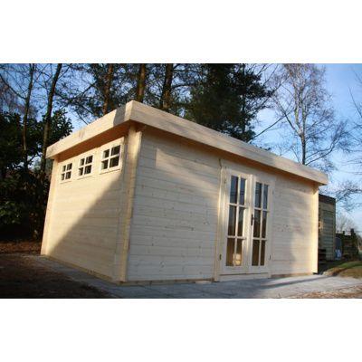 Bild 51 von Azalp Blockhaus Ingmar 400x500 cm, 45 mm