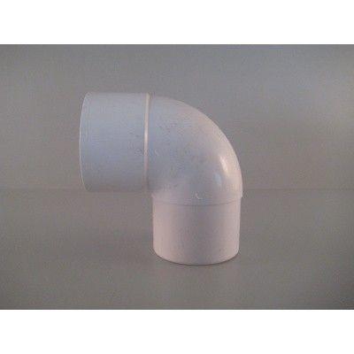 Afbeelding 2 van Pext Afvoerset: PVC buis 80 mm (lgt. 2,75 m) Wit*