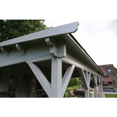 Bild 8 von Azalp Blockhaus Ben 650x650 cm, 60 mm