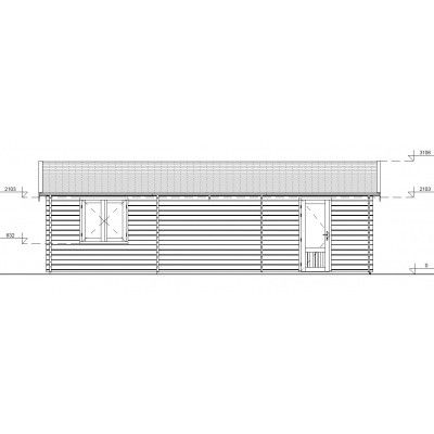 Afbeelding 11 van Graed Hangar Garage 595x900 cm, 44mm