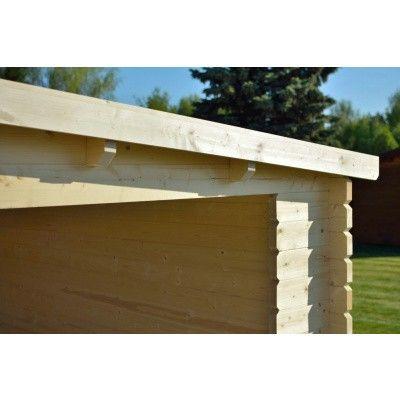 Bild 35 von Azalp Blockhaus Sanne 600x250 cm, 30 mm