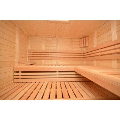 Afbeelding 33 van Azalp Sauna Luja 230x230 cm, 45 mm