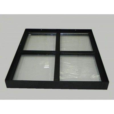 Afbeelding 3 van Azalp Stalen raam vast, 500x600 mm