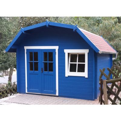Bild 8 von Azalp Blockhaus Cornwall 400x300 cm, 45 mm