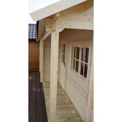 Bild 11 von Azalp Blockhaus Kirkwall 400x400 cm, 30 mm