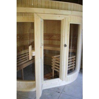 Bild 14 von Azalp Sauna Runda 203x237 cm, Fichte