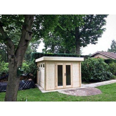 Bild 96 von Azalp Blockhaus Ingmar 596x596 cm, 45 mm