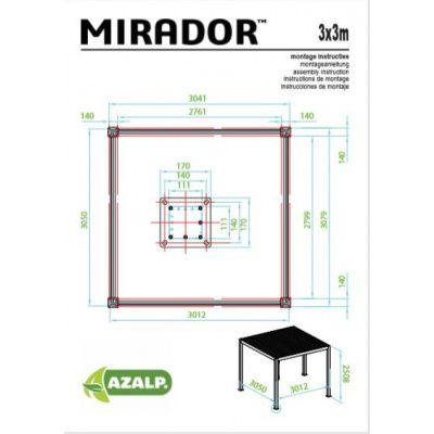 Bild 2 von Sorara Mirador 3x3 weiß