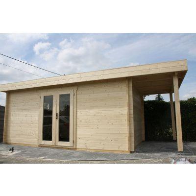 Bild 5 von Azalp Blockhaus Sven 450x450 cm, 30 mm