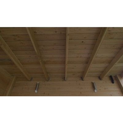 Bild 5 von WoodAcademy Bornit Excellent Douglasie Gartenhaus 500x300 cm