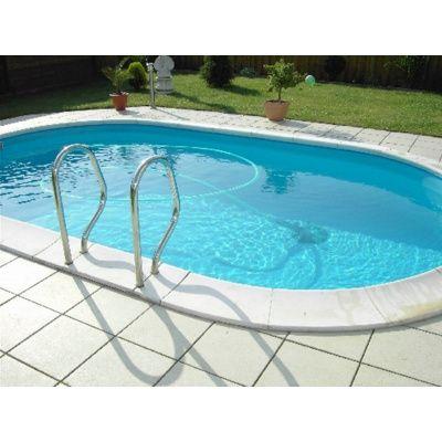 Afbeelding 14 van Trend Pool Boordstenen Tahiti 530 x 320 cm wit (complete set ovaal)