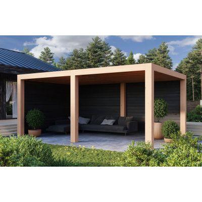 Hauptbild von WoodAcademy Moonstone Excellent Nero Überdachung 780x400 cm