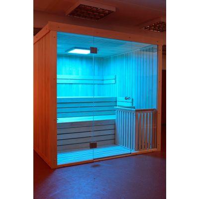 Bild 9 von Azalp Lumen Elementsauna 169x152 cm, Fichte