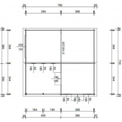 Bild 21 von Azalp Garage Miami 750x800 cm, 60 mm Schwingtor