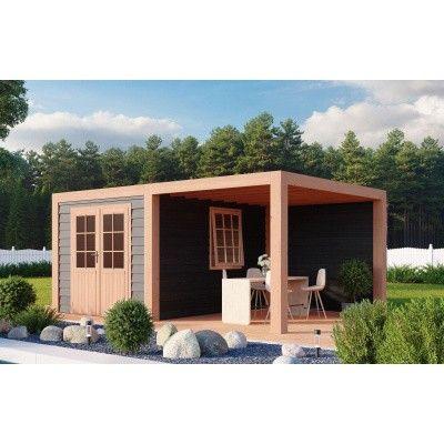 Hauptbild von WoodAcademy Sapphire Excellent Nero Gartenhaus 500x300 cm