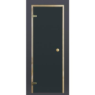 Hoofdafbeelding van Ilogreen Saunadeur Trend (Elzen) 209x79 cm, groenglas