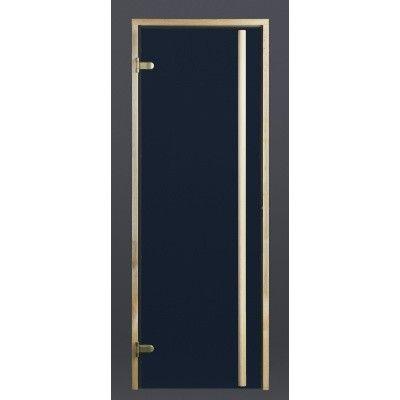 Afbeelding 8 van Ilogreen Saunadeur Exclusive (Elzen) 89x199 cm, blauwglas