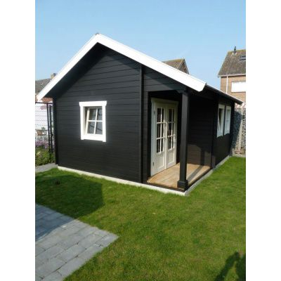 Afbeelding 4 van Azalp CLASSIC blokhut Cottage Style Kinross, 45 mm