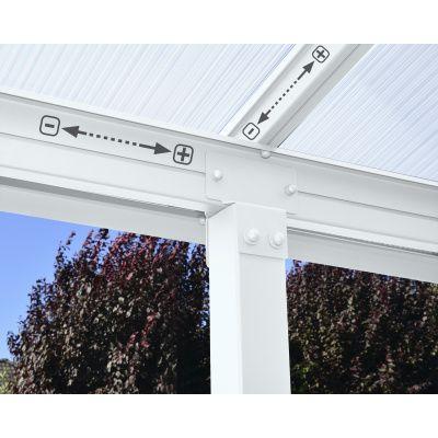 Bild 2 von Palram Olympia patio cover 3X5.46 weiß