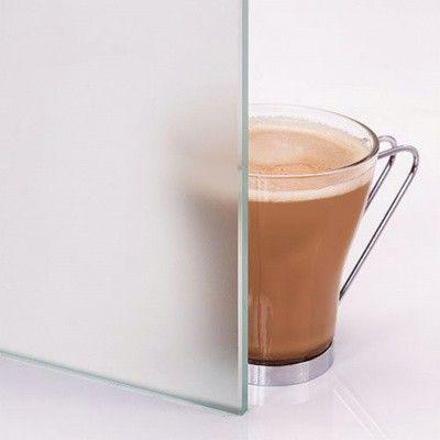 Afbeelding 3 van Hot Orange Saunadeur White 80x210 cm, melkglas 8 mm espen