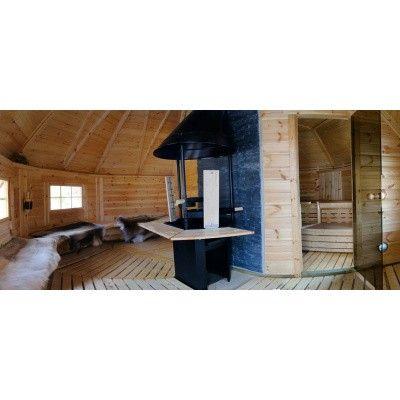 Afbeelding 4 van Interflex Sauna Kota 380x330 cm (9/2B)