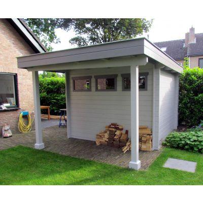 Bild 7 von Azalp Blockhaus Sven 450x450 cm, 30 mm