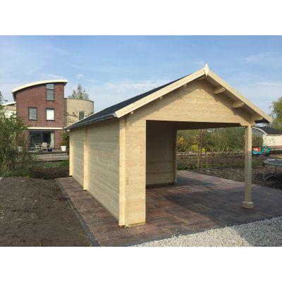 Bild 16 von Azalp Blockhaus Marnix 650x350 cm, 45 mm